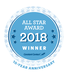 Constant Contact 2018 All Star Award